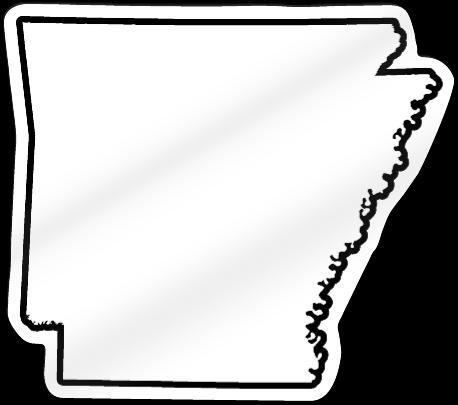 Arkansas Shaped Magnet Signstoyou Com