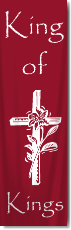 Indoor Christian Church Banners