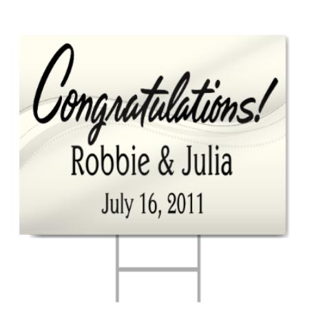 congratulations sign signstoyou com
