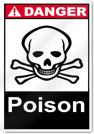 Poison Danger Signs
