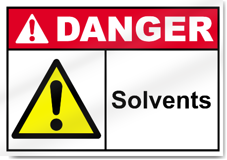 Solvents Danger Signs