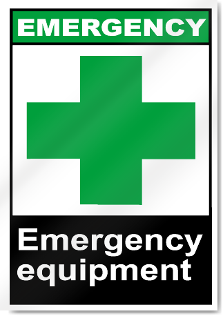 Emergency Equipmnet Emergency Signs
