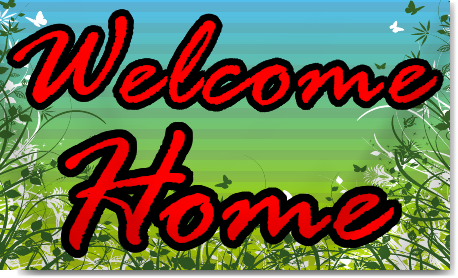 New Home Welcome Banners