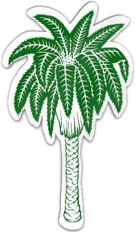 Palm Tree Shaped Magnet