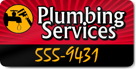 Plumbing Services Magnet