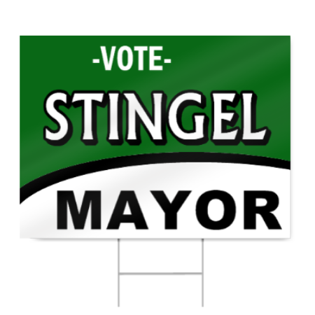 Political Election Sign