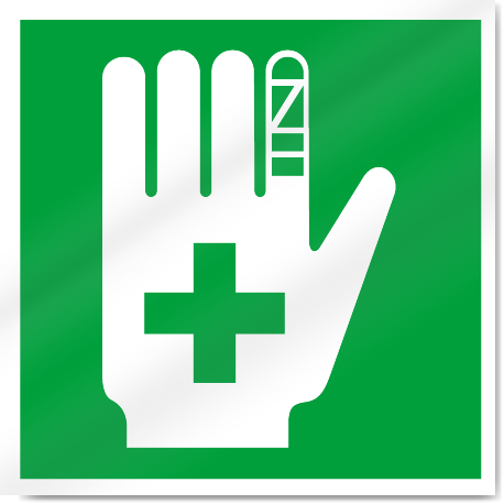 First Aid Symbol Safety Signs Signstoyou