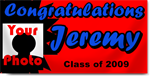 Custom Graduation Banners with Photo