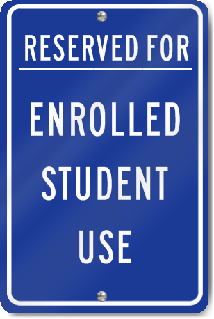 Reserved For Enrolled Student Use