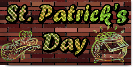 St Patricks Day Party Banners