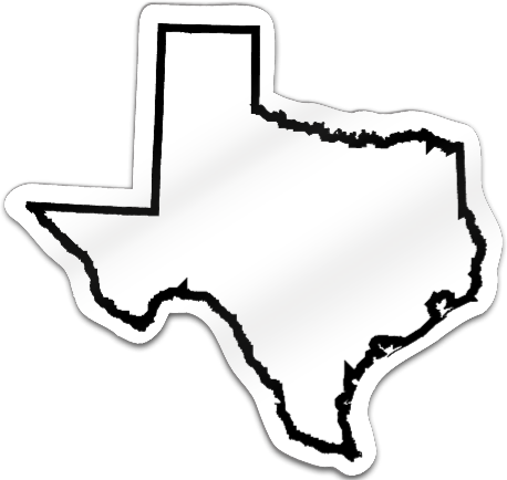 Texas Shaped Magnet