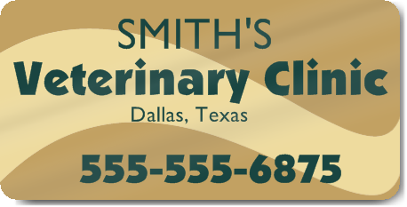 Veterinary Clinic Magnet