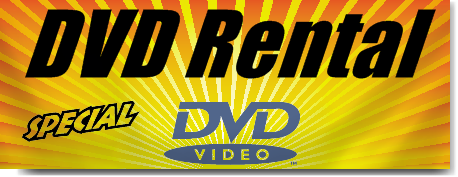 DVD Rental Banners