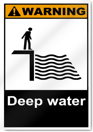 Deep Water Warning Signs Signstoyou Com