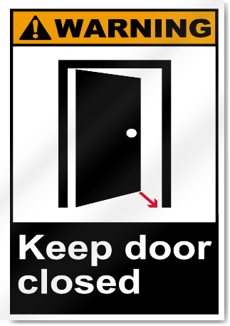 pathfinder how to keep a door closed