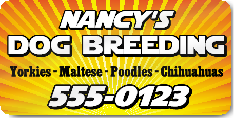 Dog Breeding Magnet