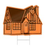 House Shaped Sign