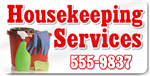 Housekeeping Services Magnet