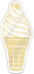 Ice Cream Cone Shaped Magnet