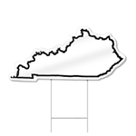 Kentucky Shaped Sign