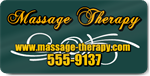 Massage Therapy Magnet