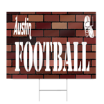Middle School Football Sign