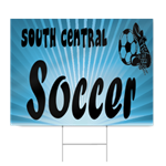 Middle School Soccer Sign