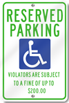 Minnesota Handicapped ADA Parking Sign
