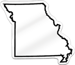 Missouri Shaped Magnet