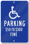 Missouri Handicap Signs