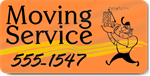 Moving Service Magnet