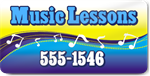 Music Lessons Magnet