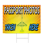Passport Photos Taken Here