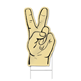 Peace Hand Shaped Sign
