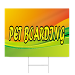 Pet Boarding Sign