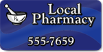 Local Pharmacy Magnet