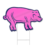 Pig Shaped Sign