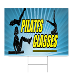Pilates Classes Sign