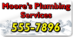 White Plumbing Services Magnet