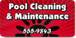 Pool Cleaning & Maintenance Magnet