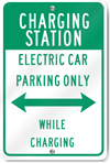 Charging Station Sign