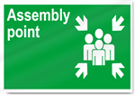 Assembly Point Safety Signs