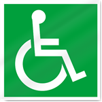 Disabled Symbol Safety Signs