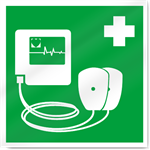 Heart Monitor Safety Signs