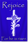 Sanctuary Banners with Cross