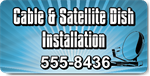 Cable and Satellite Dish Installation Magnet