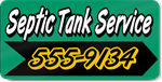 Septic Tank Service Magnet