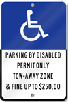South Florida Handicap Reserved Sign