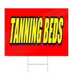 Tanning Beds Sign