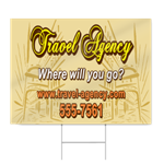 Travel Agency Sign